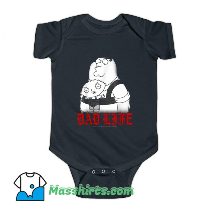 Family Guy Peter And Stewie Dad Life Baby Onesie