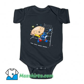Family Guy Stewie Playing Guitar Baby Onesie On Sale