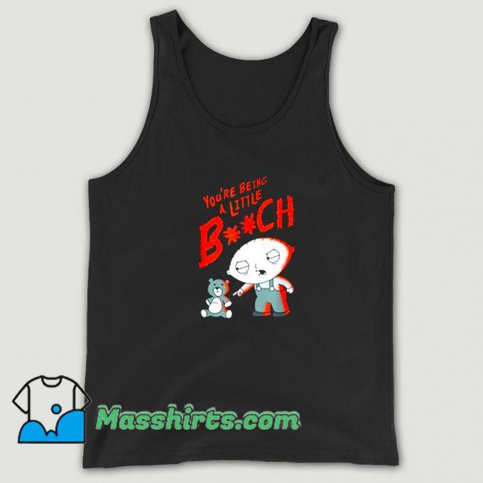 Cheap Family Guy Stewie Being A Little B Tank Top