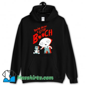 Family Guy Stewie Being A Little B Hoodie Streetwear