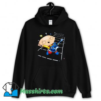 Classic Family Guy Stewie Playing Guitar Hoodie Streetwear