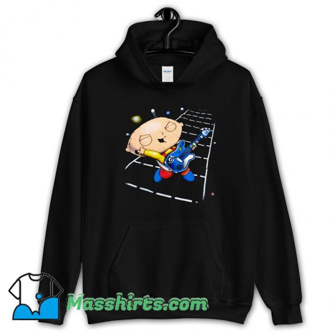 Classic Family Guy Stewie Playing Guitar Hoodie Streetwear