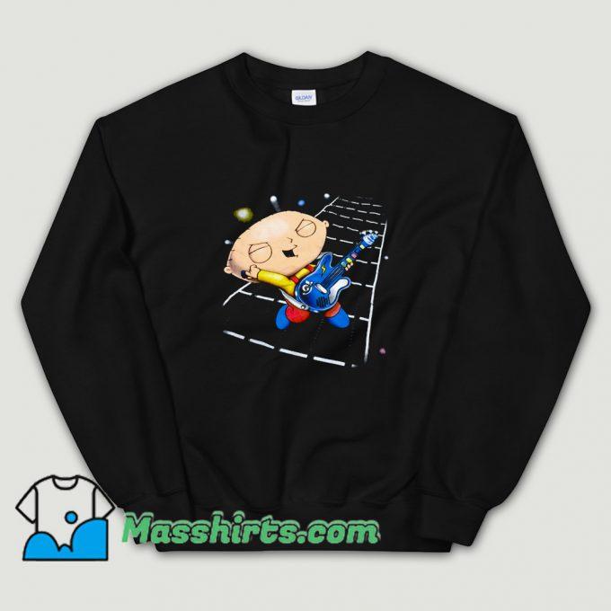 Family Guy Stewie Playing Guitar Sweatshirt