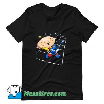 Original Family Guy Stewie Playing Guitar T Shirt Design