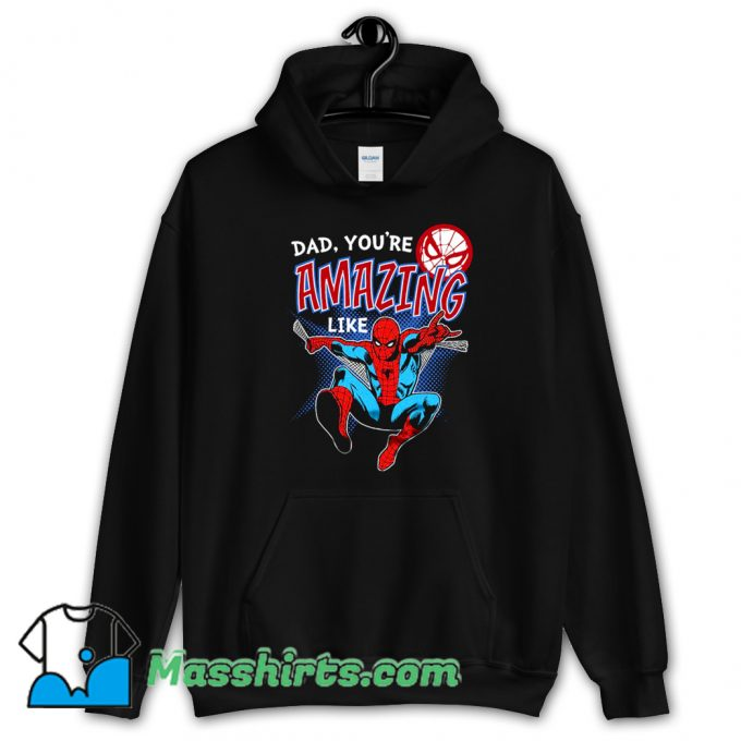 Cool Spider Man Comic Father Day Hoodie Streetwear