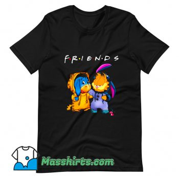 Friends Eeyore And Garfield Cute T Shirt Design