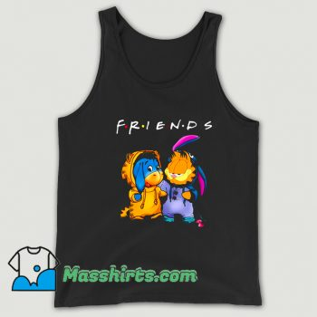 Friends Eeyore And Garfield Vintage Tank Top