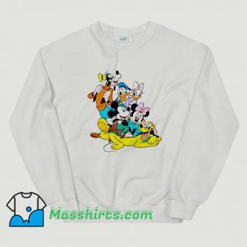 Funny Disney Donald Duck Characters Sweatshirt