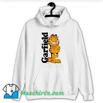 Funny Garfield Cooper Logo Hoodie Streetwear