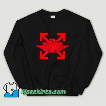 Funny Off White X Jordan Sweatshirt