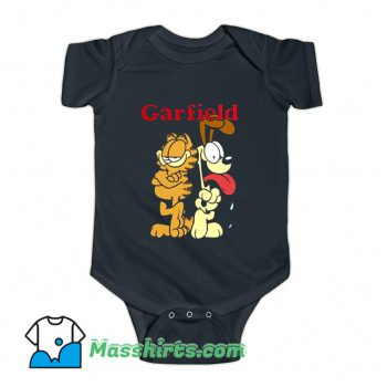 Garfield And Friends Odie Character Baby Onesie