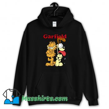 Garfield And Friends Odie Character Hoodie Streetwear