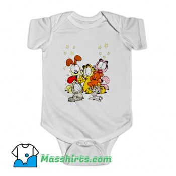 Garfield Friends Are Best Baby Onesie
