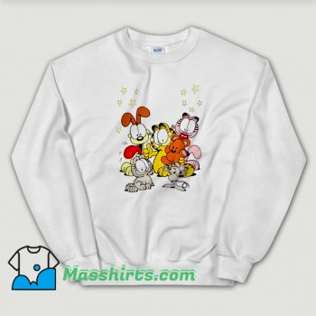 Garfield Friends Are Best Funny Sweatshirt