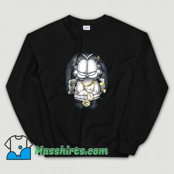 Garfield Lasagna For Life Sweatshirt On Sale