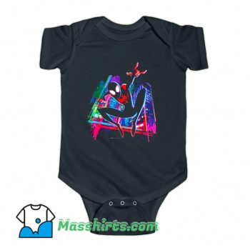 Graffiti City Spider-Man Baby Onesie