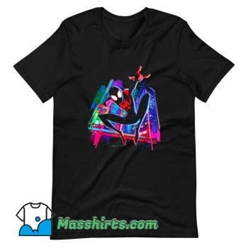 Graffiti City Marvel Spider-Man T Shirt Design
