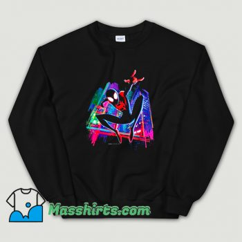Funny Graffiti City Spider-Man Sweatshirt