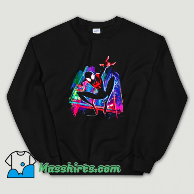 Funny Graffiti City Spider-Man Sweatshirt