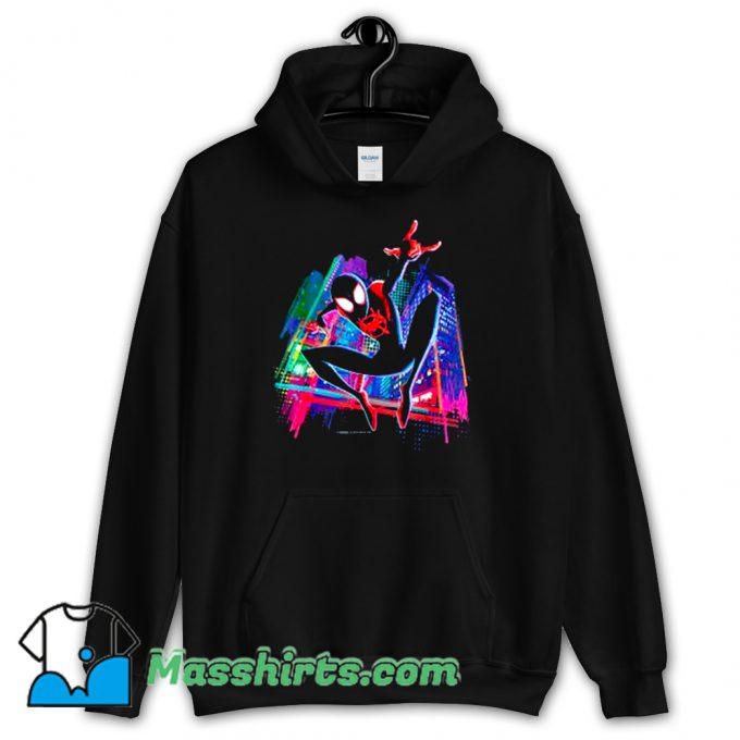 Original Graffiti City Spider-Man Hoodie Streetwear