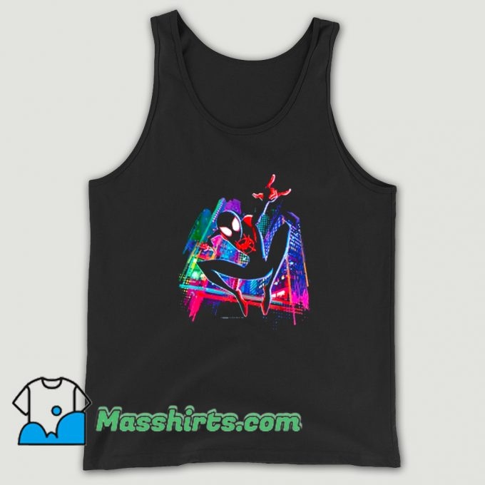 Awesome Graffiti City Spider-Man Tank Top