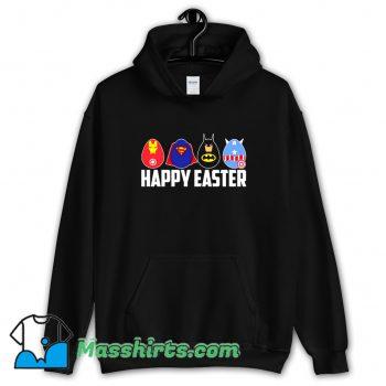 Happy Easter Superheroes Vintage Hoodie Streetwear
