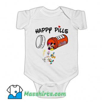 Happy Pills Disney Donald Duck Baby Onesie