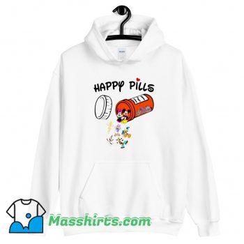 Happy Pills Disney Donald Duck Hoodie Streetwear