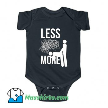 Less Stress More Sex Baby Onesie