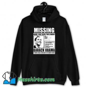 Cheap Liberal Poster Barack Obama Hoodie Streetwear