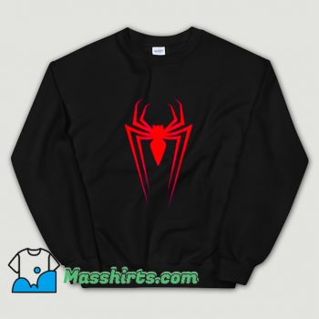 Logo Marvel Superhero Spider-Man Sweatshirt