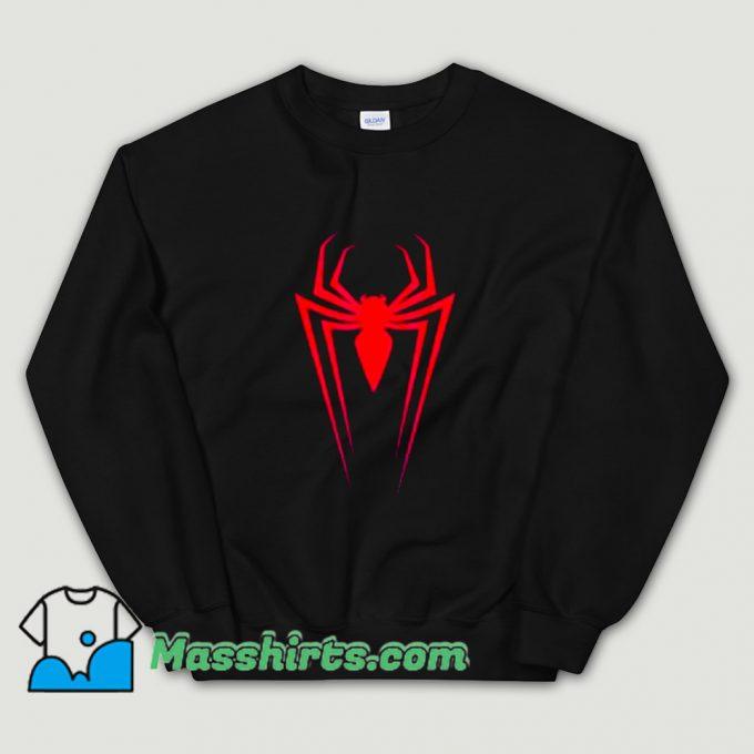 Logo Marvel Superhero Spider-Man Sweatshirt