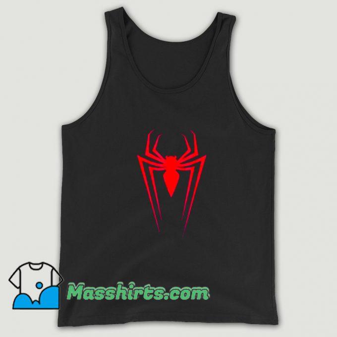 Cool Logo Marvel Superhero Spider-Man Tank Top