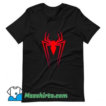 Logo Marvel Superhero Spider-Man T Shirt Design