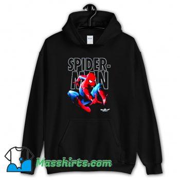 Marvel Spider-Man Epic Jump Pose Hoodie Streetwear
