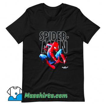 Marvel Spider-Man Epic Jump Pose T Shirt Design