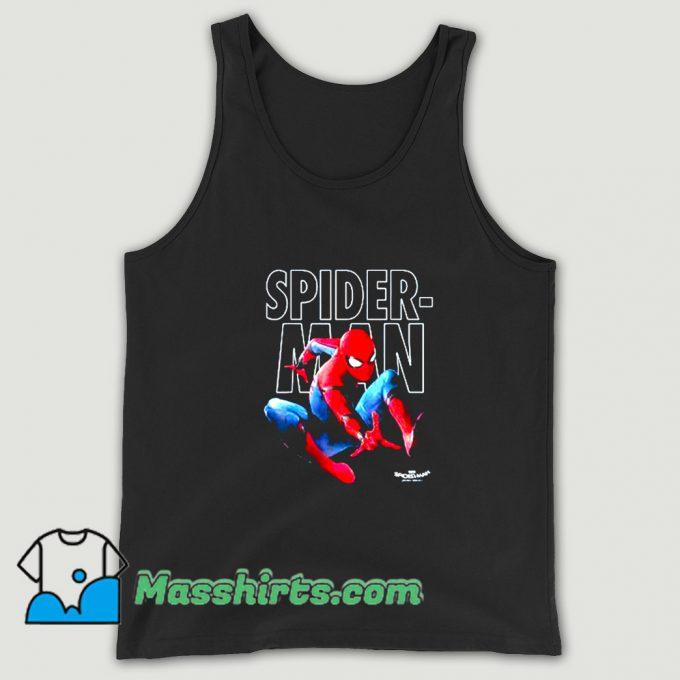MarveMarvel Spider-Man Epic Jump Pose Tank Topl Spider Man Epic Jump Posessssssssssss