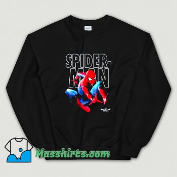Marvel Spider-Man Epic Jump Pose Sweatshirt