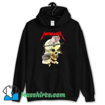 Awesome Metallica Hand On The Brain Hoodie Streetwear