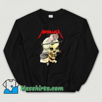 Metallica Hand On The Brain Vintage Sweatshirt