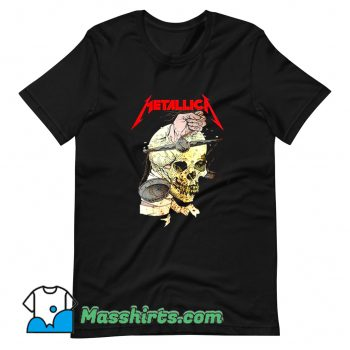 Metallica Hand On The Brain T Shirt Design