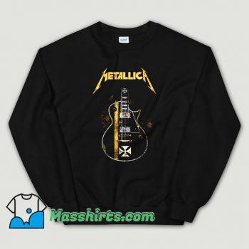 Original Metallica HelfIeld Guitard Sweatshirt