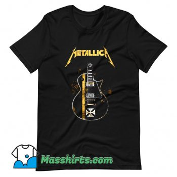 Metallica HelfIeld Guitard T Shirt Design