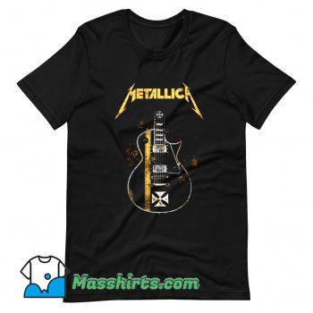 Metallica HelfIeld Guitard T Shirt Design