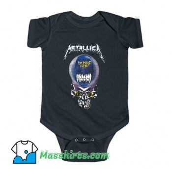 Metallica I Am Inside I Am You Baby Onesie