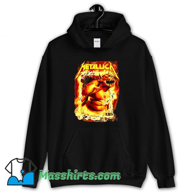 Metallica Jump In The Fire Hoodie Streetwear