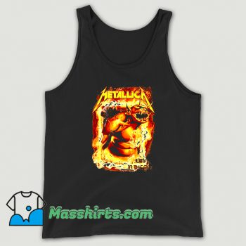 Original Metallica Jump In The Fire Tank Top