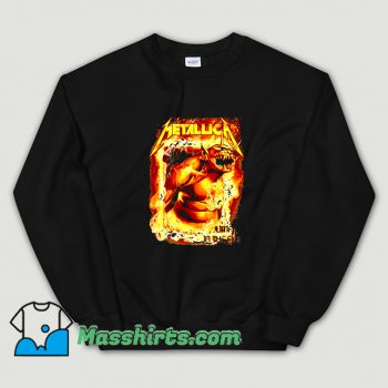 Metallica Jump In The Fire Sweatshirt On Sale