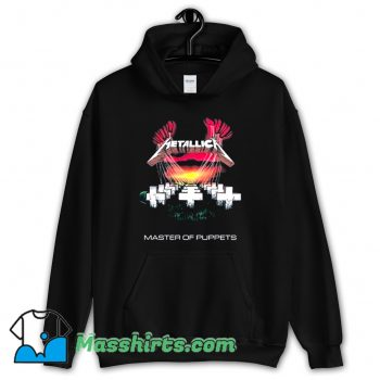 Metallica Master Of Puppets Rock Band Hoodie Streetwear