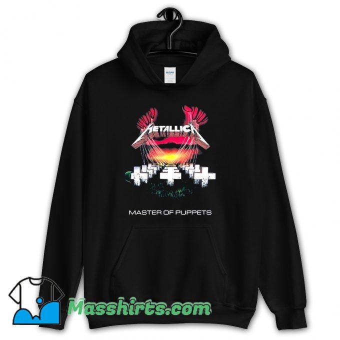 Metallica Master Of Puppets Rock Band Hoodie Streetwear